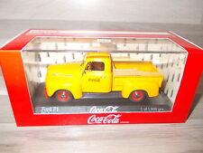 Minichamps 1/43 - Ford F1 Pickup - Coca-Cola - orange - Mint in  box