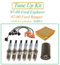 Tune Up for 97-00 Ford Explorer Ranger 4.0 v6 (OHV) Spark Plug Wire Set Air Oil