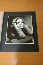 ISABELLE HUPPERT HARCOURT TIRAGE D'ART 80s VINTAGE PHOTO ORIGINAL