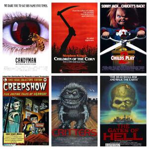 Horror Film Posters Vol.2 Vintage 50s 60s 70s 80s 90s Wall Decor Pub Club Room