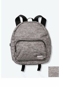 Victoria secret Pink- ripstop Grey Mini backpack bag , NWT, Great For Travel,