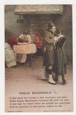 Angus Macdonald (1) Bamforth Postcard, B350