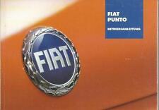 FIAT PUNTO 2 Betriebsanleitung 2003  Bedienungsanleitung Handbuch BA