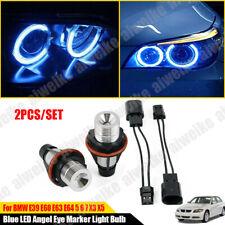 8000K Blue LED Angel Eye Marker Light Bulbs For BMW E39 E60 E63 E64 5 6 7 X3 X5