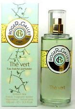 Roger & Gallet The Vert Green Tea 3.3 oz.Fresh Fragrant Water Spray. New in Box.