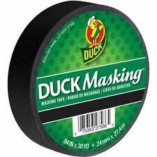 DUCK MASKING TAPE-BLACK