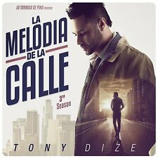La Melodia de la Calle - 3rd Season - Tony Dize (CD Digipak, 2015, Pina)