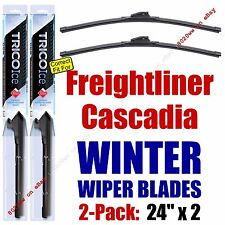 WINTER Wiper Blades 2-Pack Premium fit 2008+ Freightliner Cascadia - 35240x2