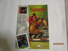 Livre Les cahiers du peintre Sports  (LI029)