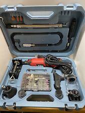 Hi-Spec Corded Rotary Power Tool Kit & Accessories DIY Repairs NEW Open Box