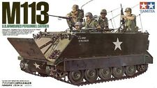 Tamiya 35040 1/35 Scale Military Model Kit US M113 Armored Personnel Carrier