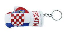 llaveros coche moto keychain key chain bandera guante boxeo Croacia croata