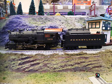 MTH PRR H10s 2-8-0 Consolidation Steam 20-3055-1, #7676 PS2