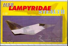 Unicraft Models 1/72 MBB LAMPYRIDAE STEALTH German Medium Missile Fighter