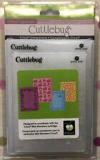Cuttlebug Embossing Folder - Mini Monsters 4 Piece Set