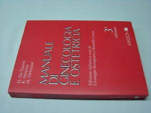 (AA.VV) Manuale di ginecologia e ostetricia 1996 Masson 3a edizione