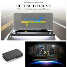 "Non-slip 6"" Screen Car Head Up Display Projector Phone Navigation GPS Holder New"