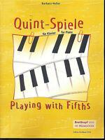Barbara Heller: Quint-Spiele für Klavier
