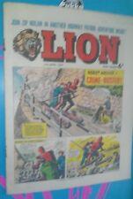 LION COMIC 10TH APRIL 1965 1960S A CLASSIC GROUNDBREAKING UK COMIC