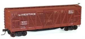 NEW HO Accurail #4735 40' Wood Stock Car Maine Central #55326 Kit