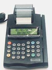 Lipman Nurit 2085 Credit Card Terminal with AC Adapter POS Point Of Sale Card