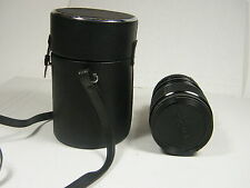 Sigma Mini Zoom 39-80mm 1:3.5 Camera Lens w/ Caps, Case for Minolta