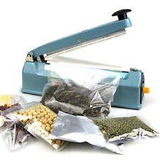 """Manual Impulse Sealer 8"""" (300) Heat Sealing Machine Poly PE PP Plastic Bag Film"""