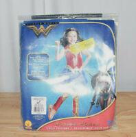 Girl's Deluxe Wonder Woman Movie Halloween Costume-L 12-14