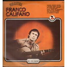 Franco Califano ‎‎Lp Vinile Recital / Record Bazaar ‎RB 106 Nuovo