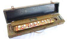 Antikes Japan-Banjo/Indian-Banjo/Zupfinstrument in orig. Kasten