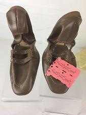 "Vintage Mint Women's Mercury USA Brown Size 7-7.5 "" Shoes w/ Storage Case (ssw3)"