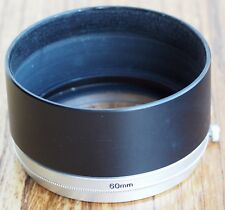 Canon T-60-2 metal lens hood, 60mm | FL round lens shade 59mm T60 filter holder