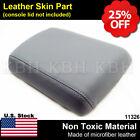 Fits 2005-2012 Nissan Pathfinder Leather Cetner Console Lid Armrest Cover Gray