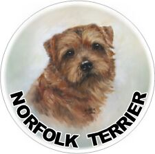 2 Norfolk Terrier Dog Car Stickers Designed By Starprint