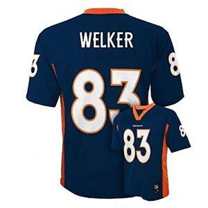 Wes Welker Denver Broncos #83 NFL Navy Youth 8 - 20 NFL Jersey