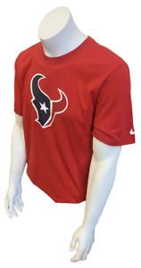 Nike Men's Houston Texans Andre Johnson #80 Red NFL Football Shirt Size Small
