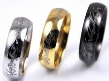 Lord of the Rings The One Ring Lotr Stainless Steel Fashion Men's Ring Size 6-13