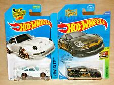 New ListingHot Wheels Porsche Pair 993 Gt2 Hw City White & Gt3 Rs Exotics Black both MoC