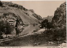 Hauser y Menet, Espagne, Toledo, Orillas del Tajo vintage print Photomécanique