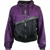 Puma After Glow Statement Jacket  Casual   Outerwear - Purple - Womens