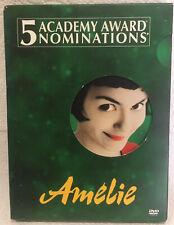 Amelie (Dvd, 2002, 2-Disc Set, Special Edition) Audrey Tautou, Jamel Debbouze