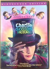 Charlie & The Chocolate Factory DVD 2005 Widescreen Johnny Depp RecycledDVD.com