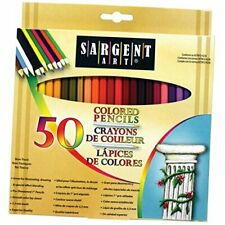 Premium Coloring Pencils, Pack of 50 Assorted Colors, 22-7251