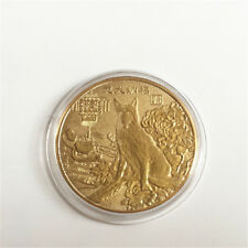 2018 Year Of The Dog Gold/Silver Commemorative Medals Coin Collection Gift 40mm
