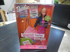NEW MATTEL Barbie SPANISH TEACHER Talks Toys R Us Excl 2000 Figure Doll 29408