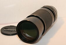 TAMRON 80-210 mm F3.8 - 4-F32ae con MINOLTA MD Adaptall MOUNT (03 A)
