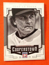 2015 Panini Cooperstown Hall of Fame TONY LA RUSSA Cardinals PHOTO VARIATION #94