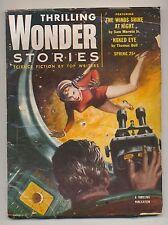 Thrilling Wonder Stories Spring 1954 Vintage Pulp Magazine Very Good