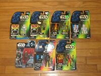 Star Wars Lot Of 7 New In Box figures Great Deal!! Action Figures Force