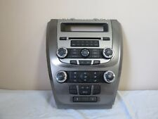 10 11 12 Fusion Milan Climate Control Radio Disc CD Player Receiver Panel OEM